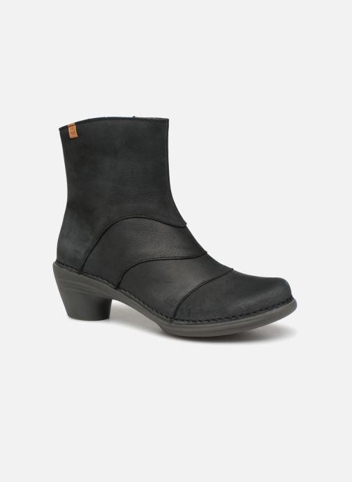 Ankle boots El Naturalista Aqua N5328 Black detailed view/ Pair view