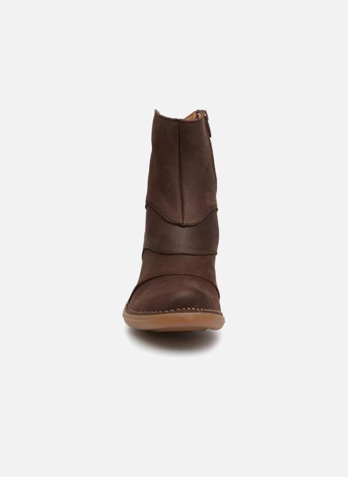 Boots en enkellaarsjes El Naturalista Aqua N5328 Bruin model