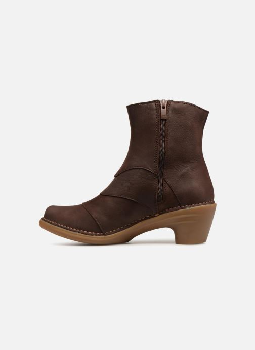 Ankle boots El Naturalista Aqua N5328 Brown front view