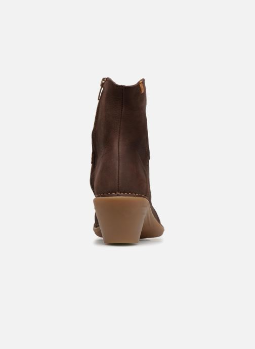 Ankle boots El Naturalista Aqua N5328 Brown view from the right