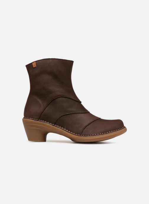 Ankle boots El Naturalista Aqua N5328 Brown back view