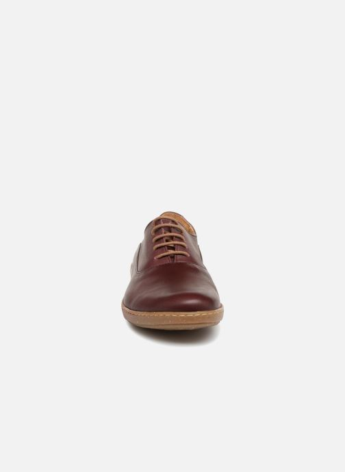 Lace-up shoes El Naturalista Coral N5306 Red model view