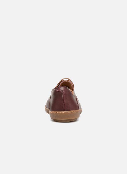 Chaussures à lacets El Naturalista Coral N5306 Rouge vue droite
