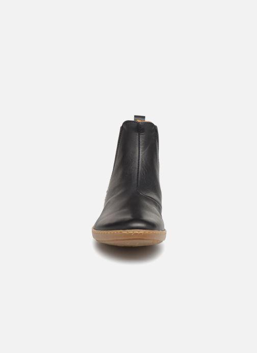 Ankle boots El Naturalista Coral N5307 Black model view