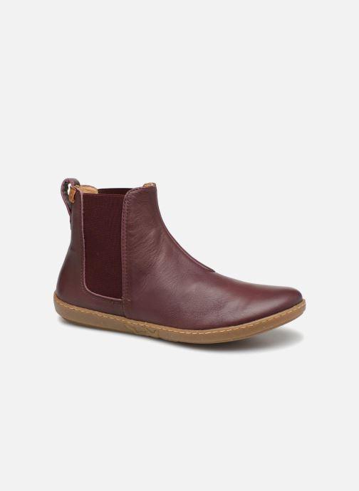 Bottines et boots El Naturalista Coral N5307 Rouge vue détail/paire