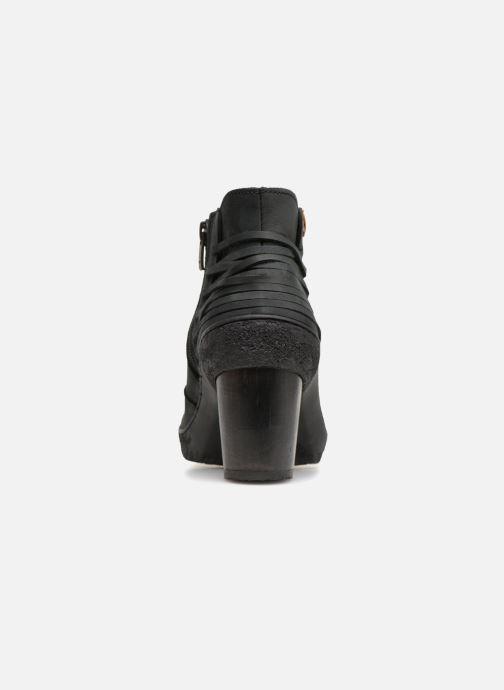 Bottines et boots El Naturalista Lichen N5171 Noir vue droite