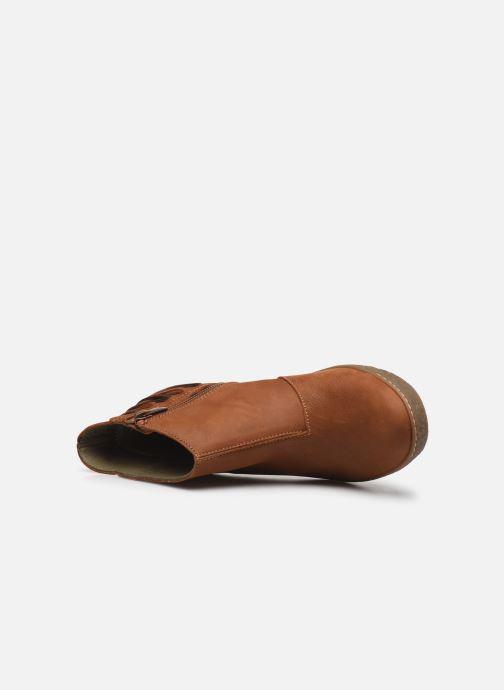Bottines et boots El Naturalista Lichen N5171 Marron vue gauche