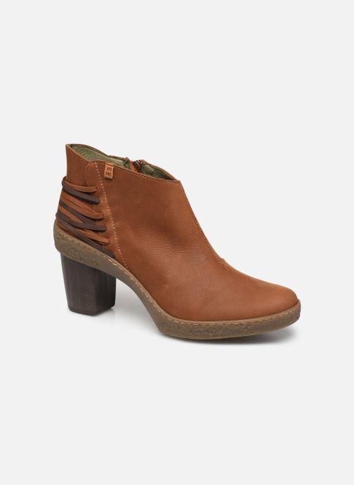 Bottines et boots El Naturalista Lichen N5171 Marron vue détail/paire
