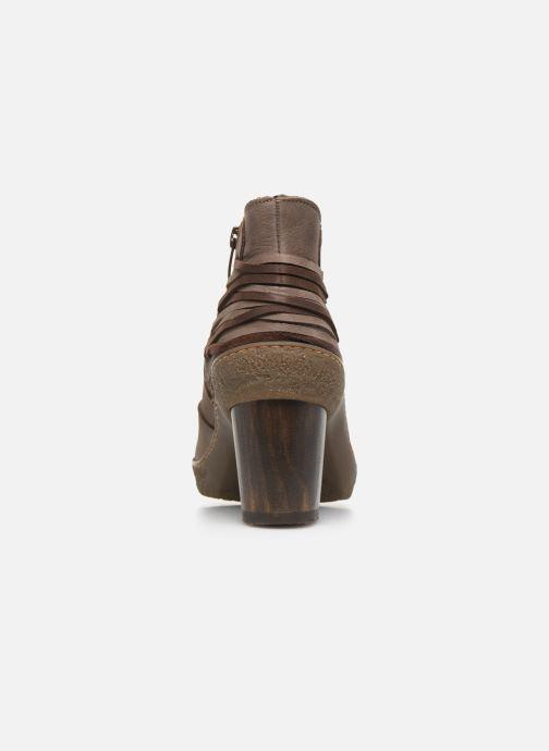 Bottines et boots El Naturalista Lichen N5171 Gris vue droite