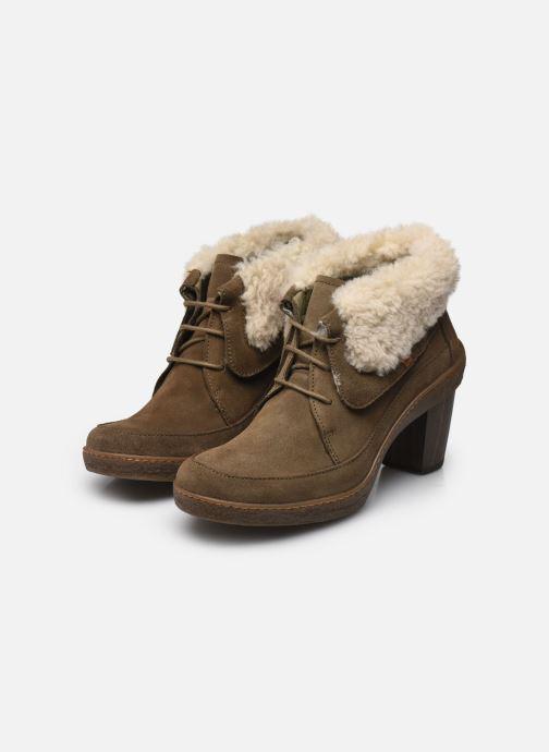 Bottines et boots El Naturalista Lichen N5172 Vert vue bas / vue portée sac