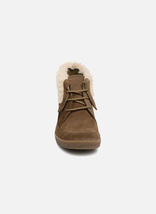 Bottines et boots El Naturalista Lichen N5172 Vert vue portées chaussures