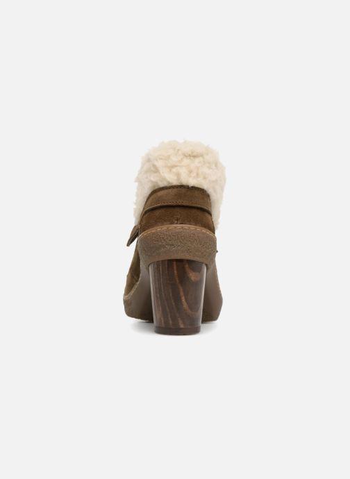 Stiefeletten & Boots El Naturalista Lichen N5172 grün ansicht von rechts