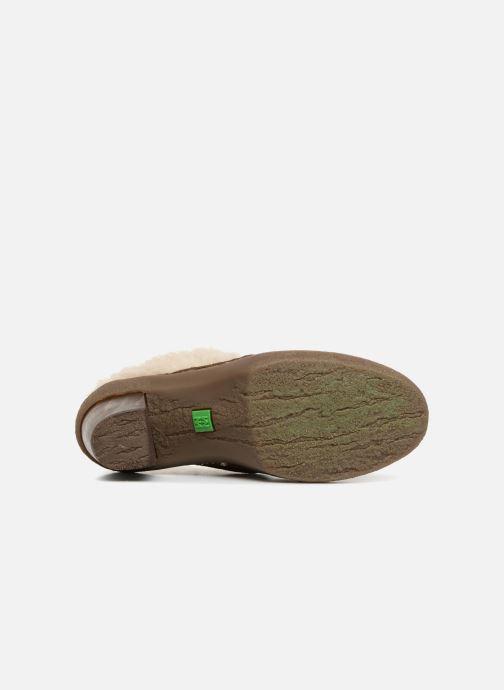 Bottines et boots El Naturalista Lichen N5172 Vert vue haut