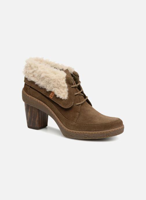 Bottines et boots El Naturalista Lichen N5172 Vert vue détail/paire