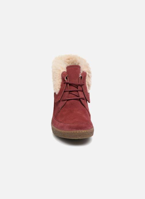 Bottines et boots El Naturalista Lichen N5172 Rouge vue portées chaussures