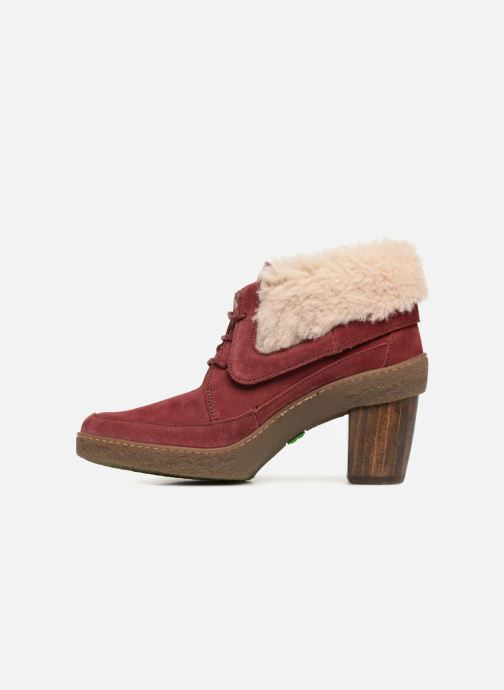 Ankle boots El Naturalista Lichen N5172 Red front view