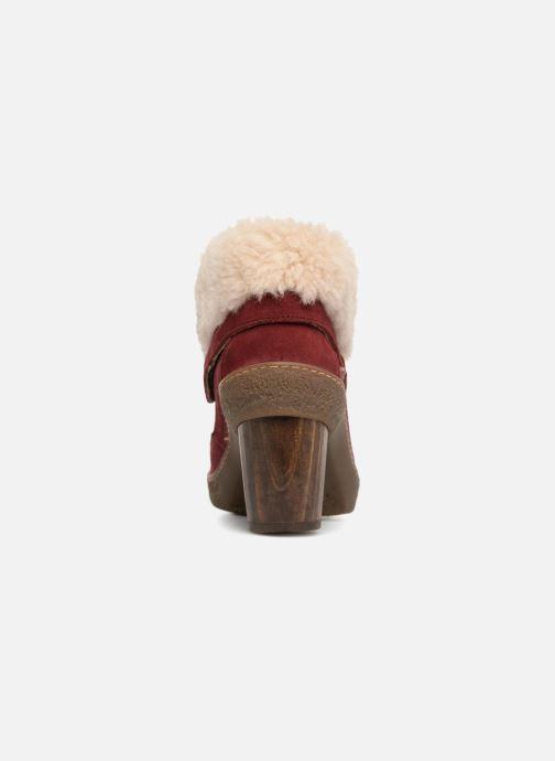 Bottines et boots El Naturalista Lichen N5172 Rouge vue droite