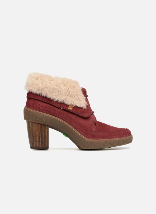 Bottines et boots El Naturalista Lichen N5172 Rouge vue derrière