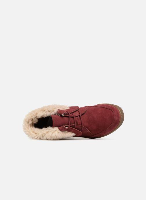 Bottines et boots El Naturalista Lichen N5172 Rouge vue gauche