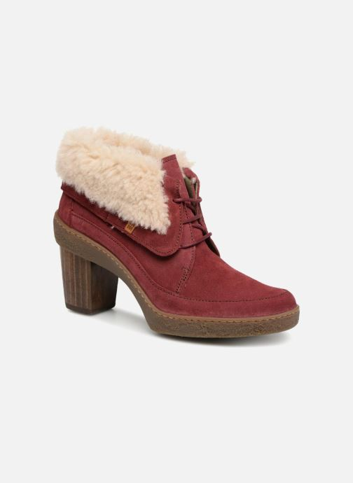 Ankle boots El Naturalista Lichen N5172 Red detailed view/ Pair view