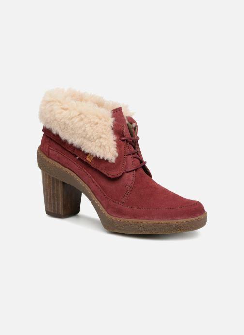 Bottines et boots El Naturalista Lichen N5172 Rouge vue détail/paire