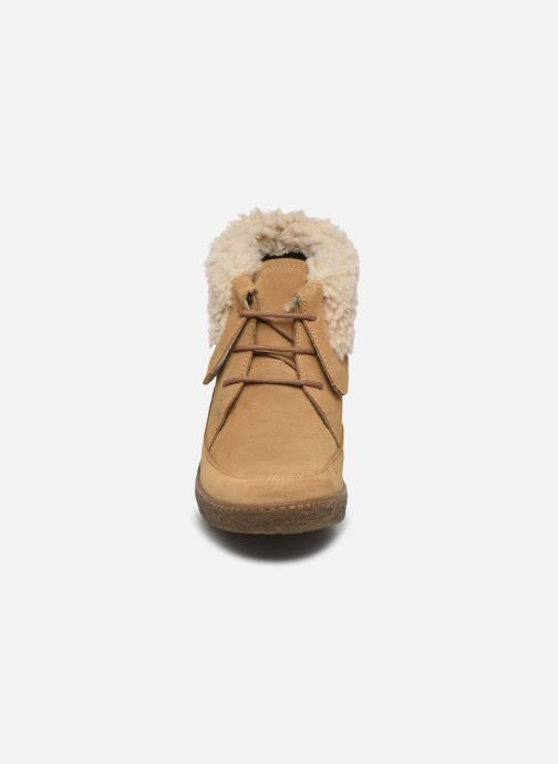 Bottines et boots El Naturalista Lichen N5172 Beige vue portées chaussures