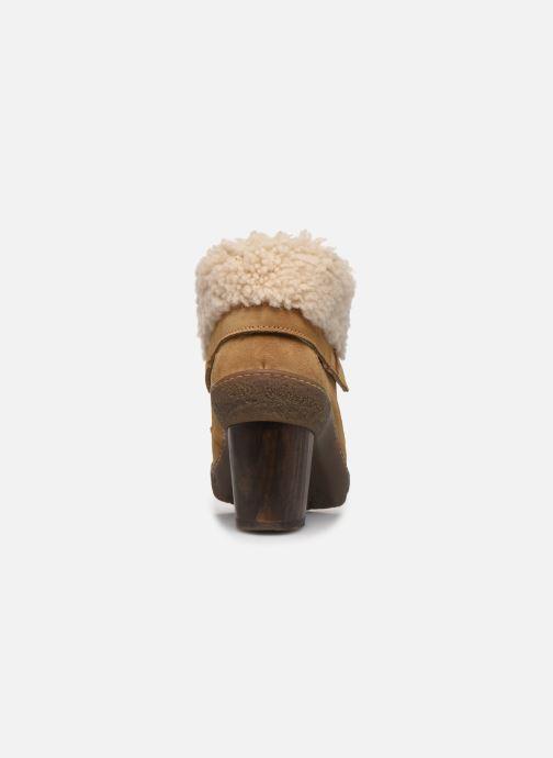 Bottines et boots El Naturalista Lichen N5172 Beige vue droite
