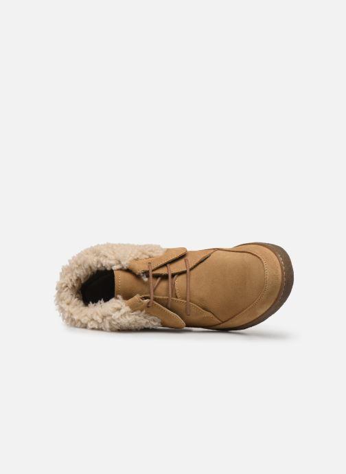 Bottines et boots El Naturalista Lichen N5172 Beige vue gauche