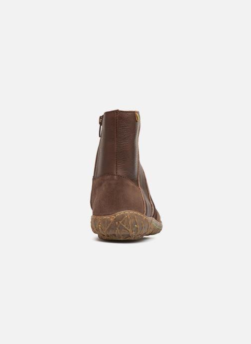 Bottines et boots El Naturalista Nido N5440 Marron vue droite