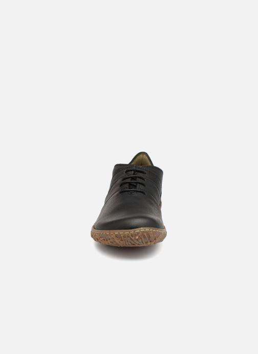 Schnürschuhe El Naturalista Nido N5442 schwarz schuhe getragen