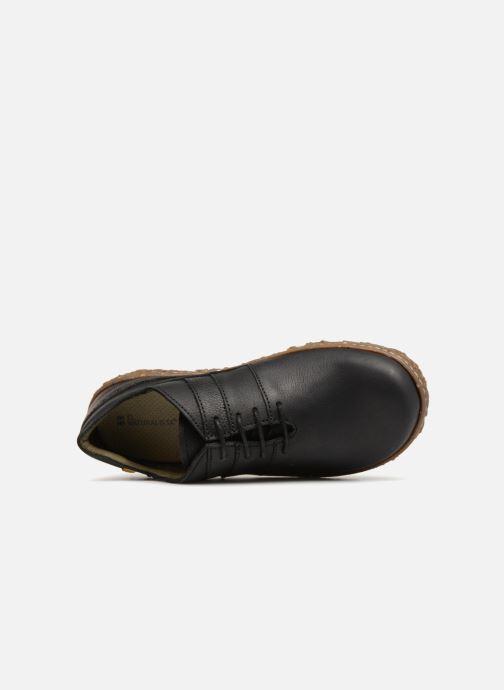 Chaussures à lacets El Naturalista Nido N5442 Noir vue gauche