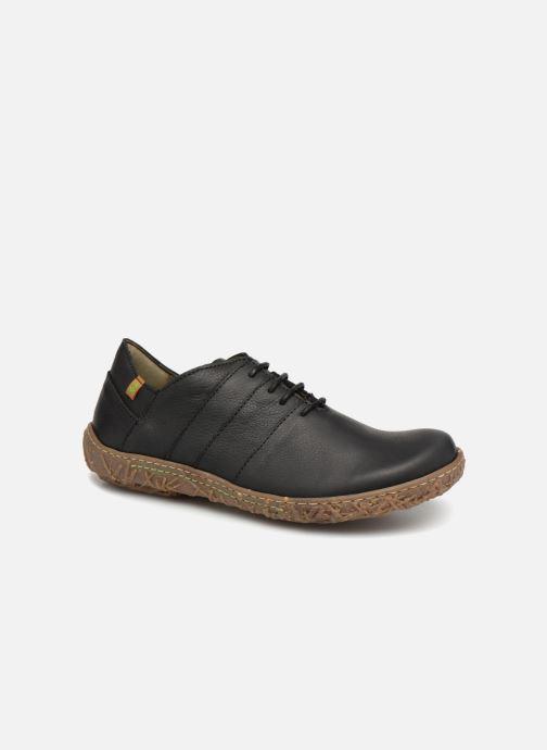 Chaussures à lacets El Naturalista Nido N5442 Noir vue détail/paire