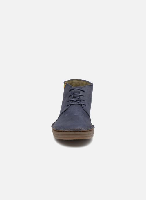 Ankle boots El Naturalista Rice Field N5047 Blue model view