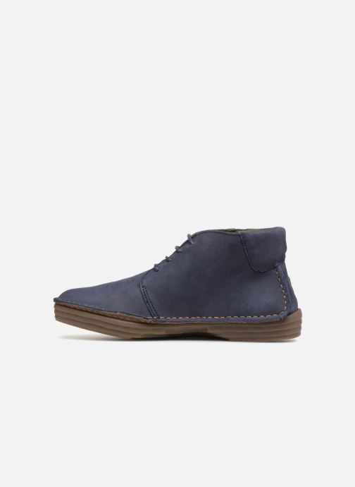 Ankle boots El Naturalista Rice Field N5047 Blue front view