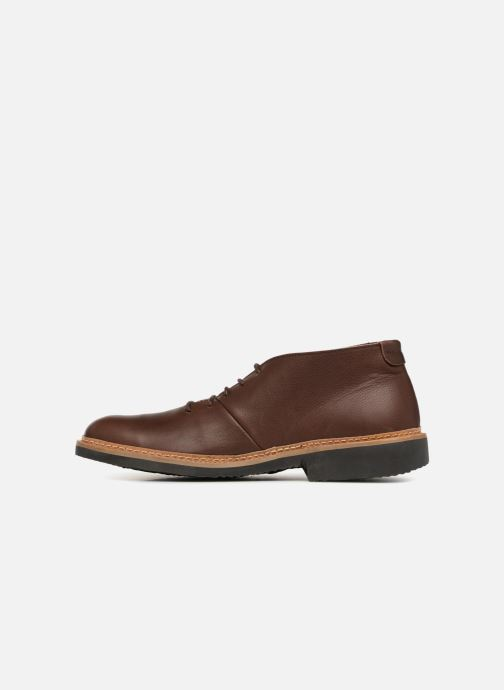 Ankle boots El Naturalista Yugen NG30 Brown front view