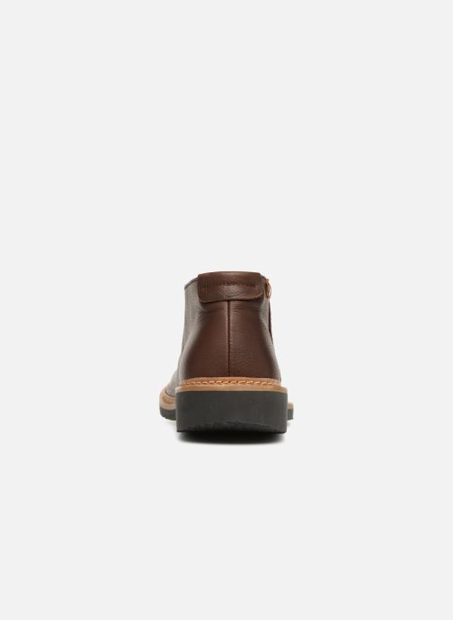 Ankle boots El Naturalista Yugen NG30 Brown view from the right