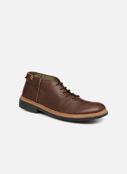 Ankle boots El Naturalista Yugen NG30 Brown detailed view/ Pair view