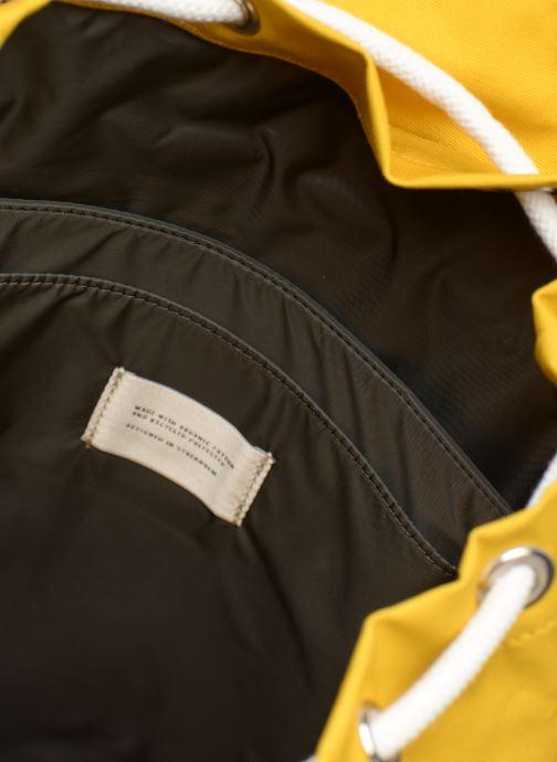 Rucksäcke SANDQVIST ROALD gelb ansicht von hinten