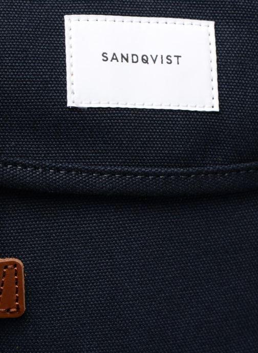 Rucksacks SANDQVIST STIG Blue view from the left