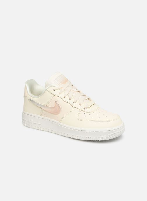 new products b281f 0ff9b Baskets Nike W Air Force 1  07 Se Prm Blanc vue détail paire