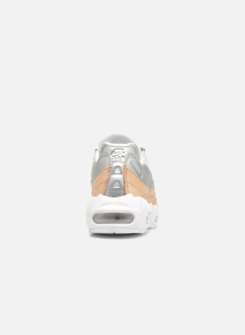 Baskets Nike Wmns Air Max 95 Se Prm Gris vue droite