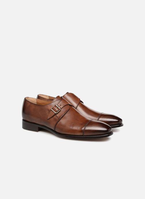 Chaussure à boucle Marvin&Co Luxe Denston - Cousu Blake Marron vue 3/4