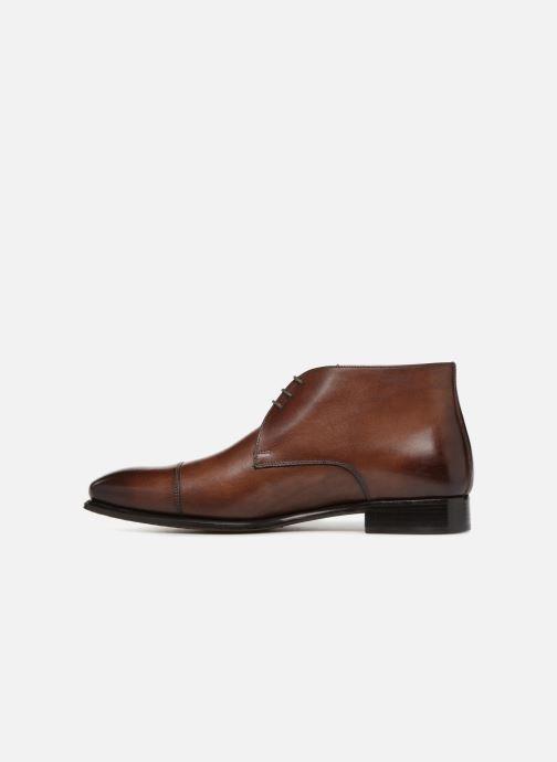 Boots en enkellaarsjes Marvin&Co Luxe Danow - Cousu Blake Bruin voorkant