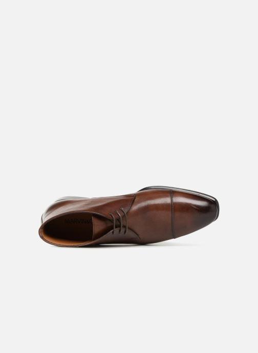 Boots en enkellaarsjes Marvin&Co Luxe Danow - Cousu Blake Bruin links