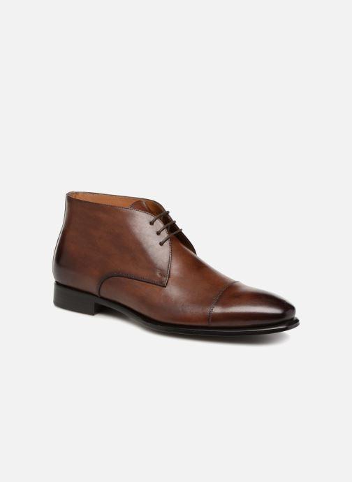 Bottines et boots Marvin&Co Luxe Danow - Cousu Blake Marron vue détail/paire