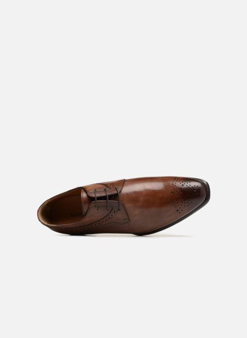 Zapatos con cordones Marvin&Co Luxe Daniels - Cousu Blake Marrón vista lateral izquierda