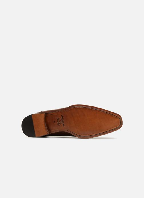 Zapatos con cordones Marvin&Co Luxe Daniels - Cousu Blake Marrón vista de arriba