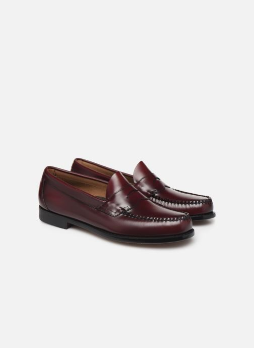 Loafers G.H. Bass WEEJUN Logan Moc Burgundy 3/4 view