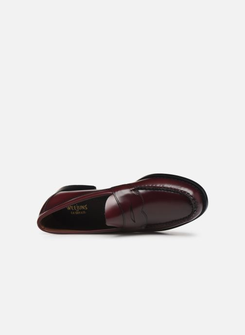 Loafers G.H. Bass WEEJUN Logan Moc Burgundy view from the left