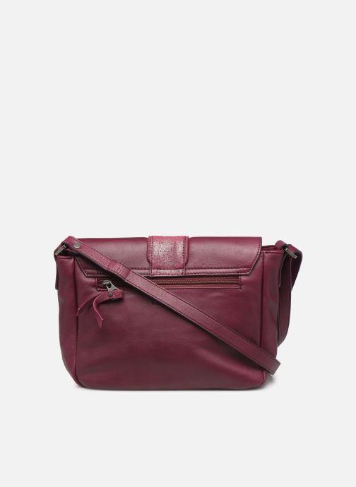 Handtassen Sabrina BERTILLE Paars voorkant